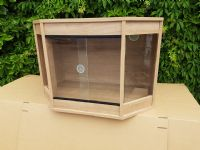 Bow Fronted 180cm x 60cm x 60cm  (72x24x24) Flat Packed Vivarium 6ft